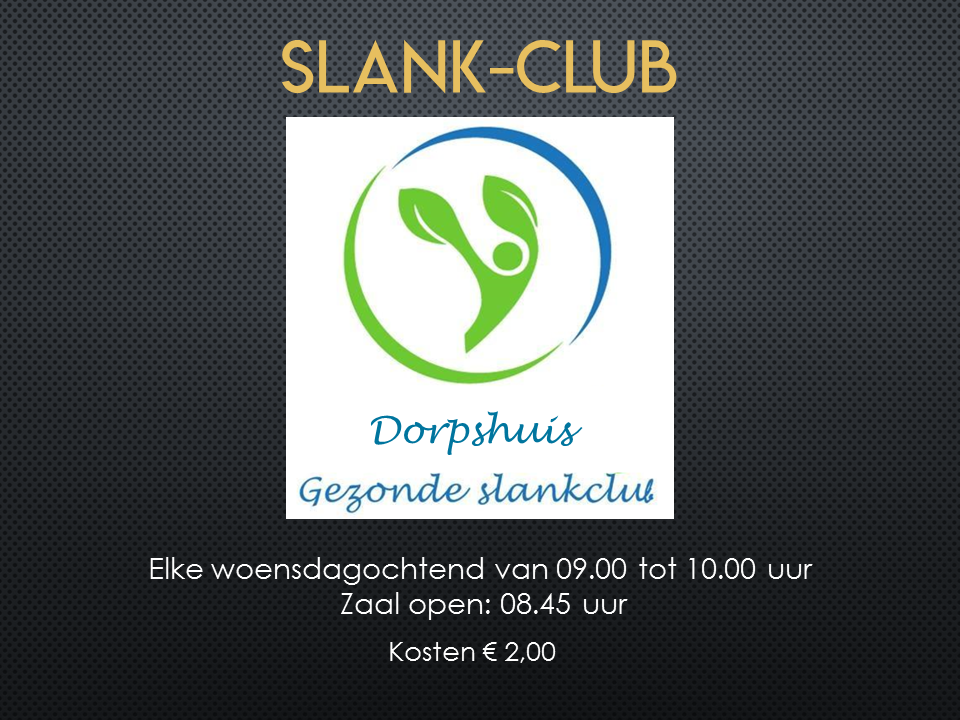 Dorpshuis Slankclub 2020
