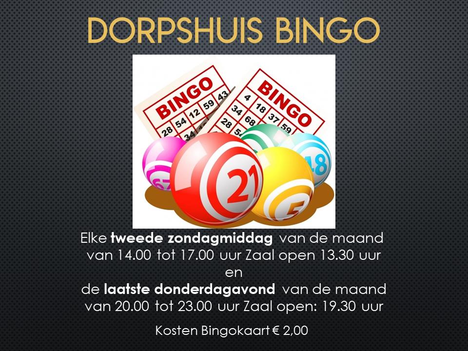 Dorpshuis Bingo 2020